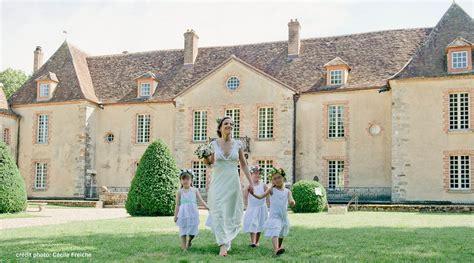 mariage et location de salle de mariage dans un chateau en bourgogne