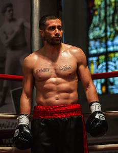 Jake Gyllenhaal is RIPPED in new movie, Southpaw
