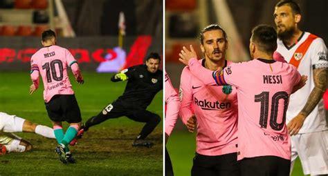 LIONEL MESSI: Barcelona vence a Rayo Vallecano por la Copa ...