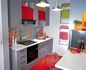 Idée Aménagement Petite Cuisine : exceptionnel idee amenagement cuisine petit espace 3 ~ Dailycaller-alerts.com Idées de Décoration