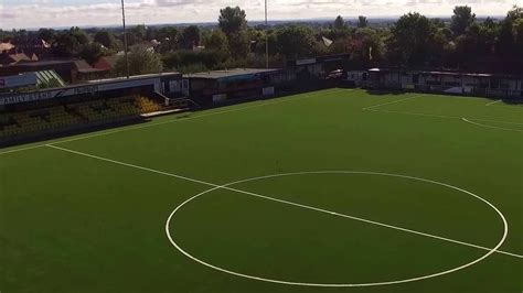 Harrogate Town FC - 3G Football Turf Stadium Pitch - YouTube