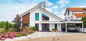 Moderne Häuser Mit Satteldach : moderne h user versetztes satteldach ~ Lizthompson.info Haus und Dekorationen