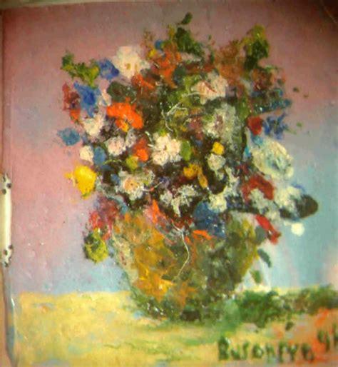 fiori ad olio dipingere fiori ad olio