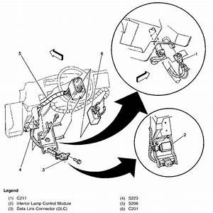 2008 Chevy Silverado Fuel Pump Control Module Location