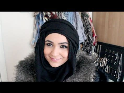 face slimmer turban hijab tutorial youtube