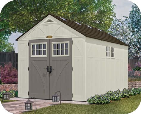 Suncast Tremont Shed 8 X 13 by Suncast 8x13 Tremont Resin Shed Kit W Floor Bms8135