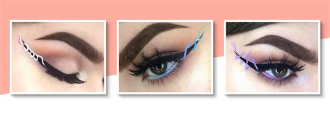 Ribbon Eyeliner Trend Eye Makeup Tips Bebeautiful