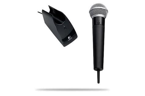 logitech and microphone logitech announces logitech cordless vantage microphone