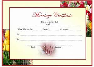 Cancel Contract Letter Templates Marriage Certificate Template Of Marriage Certificate