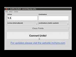 Conversion Chart Cm To Inches Convert 1 5 Inches To Cm With Help Calculator Quot Inchpro