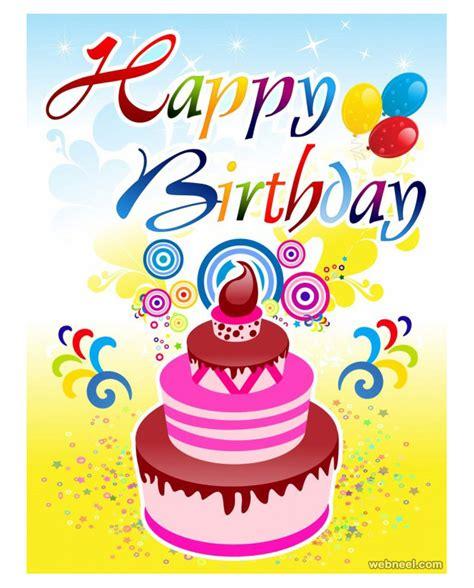 birthday card design 50 beautiful happy birthday greetings card design exles