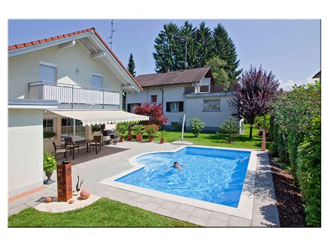 Pool 1 50 Tief by Styropool 174 Beckenset Rechteck Mit Treppe R 150cm