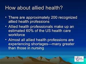 Allied health careers for Allied health careers