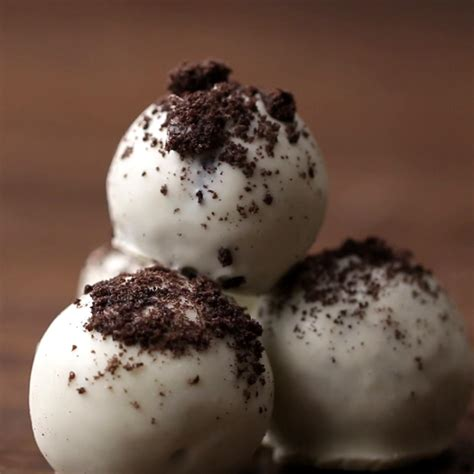 cookies cream truffles easy dessert recipe  tasty