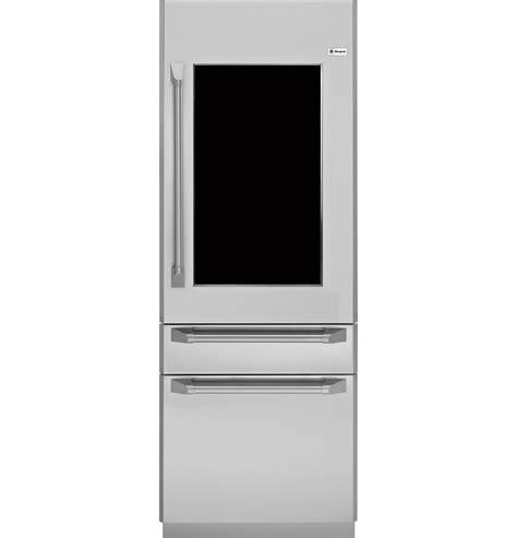 zkgpnrh ge monogram glass door refrigerator dining