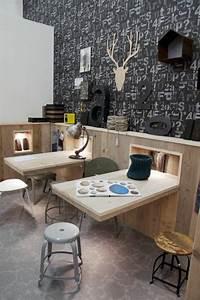 Schreibtisch Wohnzimmer Lösung : wandklapptische klappbare holztische f r kleine r ume thesis pinterest raum m bel und ~ Markanthonyermac.com Haus und Dekorationen