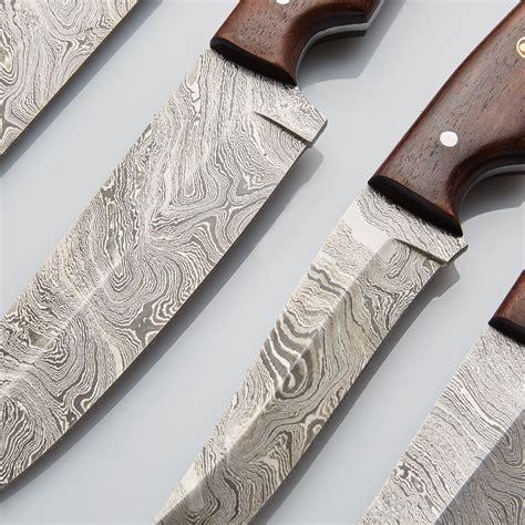 modern kitchen knives modern kitchen knives set of 6 pcs 10 deer custom