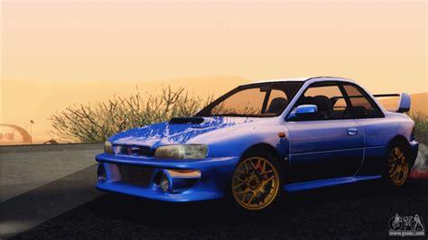 Subaru Impreza 22b Sti 1998 For Gta San Andreas