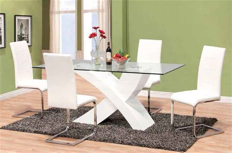 glass dining room sets glass top dining room table sets dining room tables modern sets glass