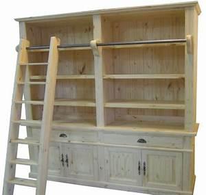 Bibliothèque En Pin Brut : meuble en pin standards ou sur mesure le groupe ~ Edinachiropracticcenter.com Idées de Décoration