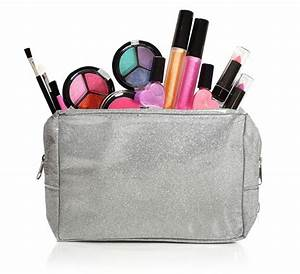 Kids Washable Makeup Set with Glitter Cosmetic Bag Only ...