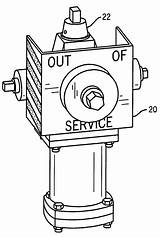 Hydrant Fire Coloring Template Colouring sketch template