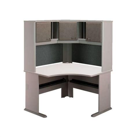 corner computer desk with hutch bush business series a 48 quot corner computer desk with hutch
