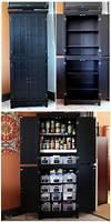 diy kitchen pantry cabinet Instant DIY Pantry Cabinet