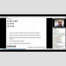 Jamboree Gmat 740+ Webinar Series Absolute Value + Inequalities Youtube