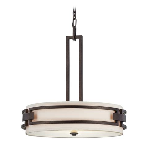 white drum pendant light drum pendant light with white shades in flemish bronze