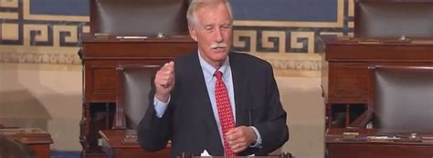 Sen. King: 'There is too much is at stake' to confirm