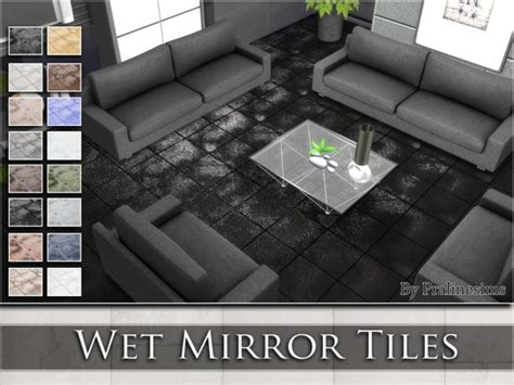 floor mirror sims 4 pralinesims wet mirror tiles sims 4 updates sims 4 finds sims 4 must haves free
