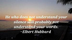 Insightful sile... Silence Golden Quotes