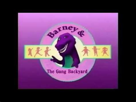 Barney And The Backyard Theme Song by House Of Boredom Barney And The Backyard
