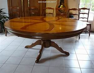 Table Ronde 8 Personnes : table ronde pied central ~ Teatrodelosmanantiales.com Idées de Décoration