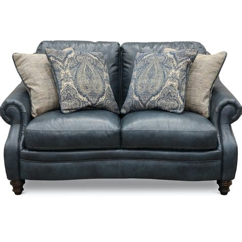 navy blue leather loveseat classic traditional navy blue leather loveseat admiral