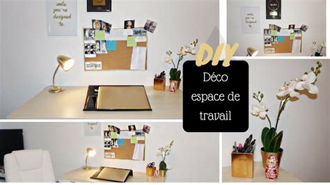 diy deco bureauespace de travail colashood youtube