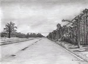 Perspective Road Drawing