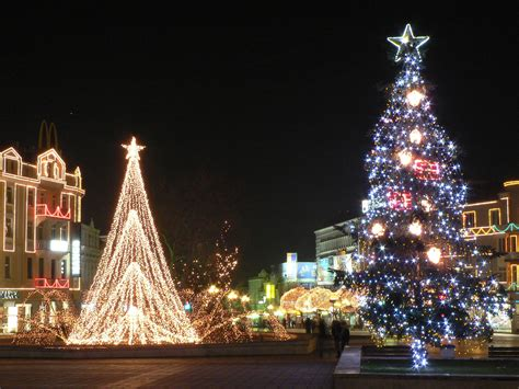 christmas lights and traditions in europe