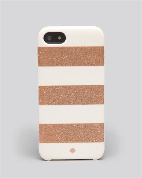 kate spade iphone cases kate spade new york iphone 5 glitter jubilee stripe