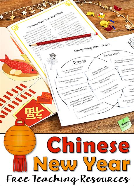 Chinese New Year Free Teaching Resources  Corkboard Connections Bloglovin'