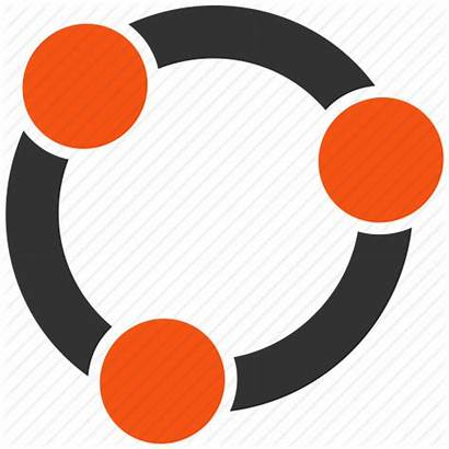 Icon Circle Community Network Team Support Trust