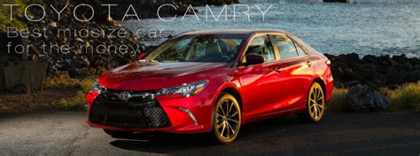 Toyota Camry Rated Best Midsize Car For The Money