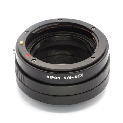kipon nikon g lens to sony nex adapter nikon g nex eachshot