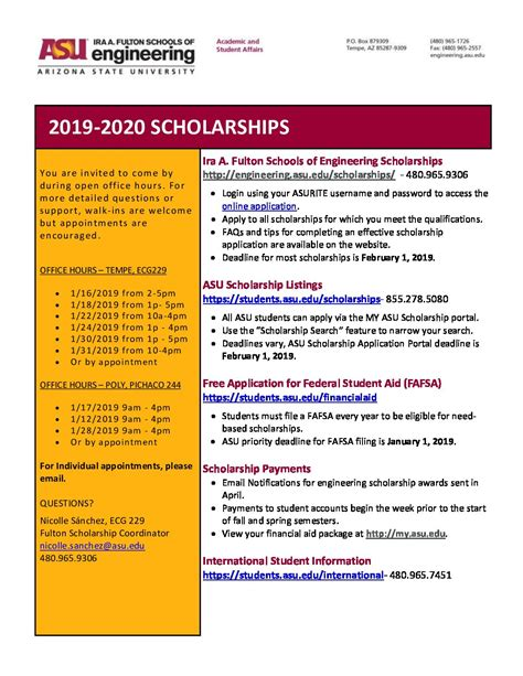 apply scholarships fulton student organizations