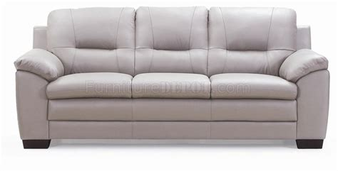 Light Grey Loveseat by 435003 Sofa Loveseat In Light Grey Leather By New Spec