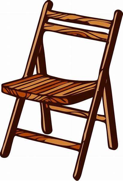 Clipart Living Things Chair Wooden Cliparts Clip