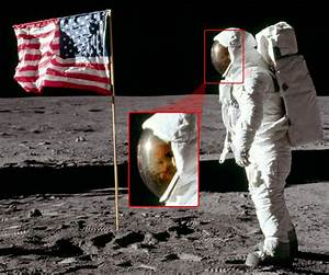 Buzz Aldrin's face in his suit while on the moon | Space ...