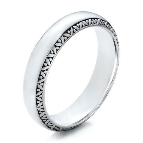 men s engraved wedding band 101048 seattle bellevue joseph jewelry