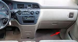 Fuse Box Diagram  U0026gt  Honda Odyssey  Rl1  2000